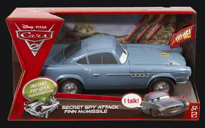 Cars  Finn Mcmissile Secret Spy Attack