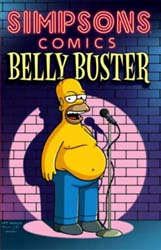 The Simpsons: Belly Buster - Graphic Novel review
